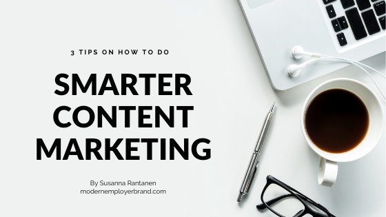 Smarter content marketing