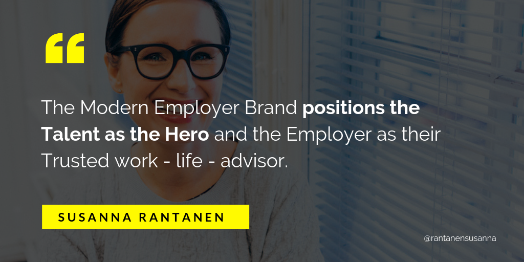 What is modern employer brand_ quote