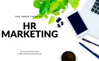 The Three Types of HR Marketing