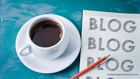 Three types of HR marketing, blogging