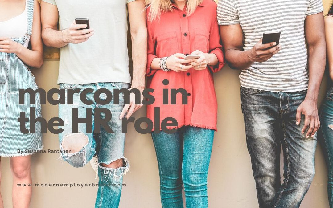Marketing and communications in the HR role (includes podcast #14)