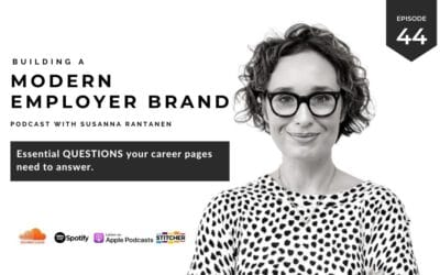 Essential questions your career pages need to answer [podcast #44]