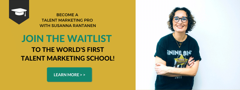Talent Marketing School waitlist