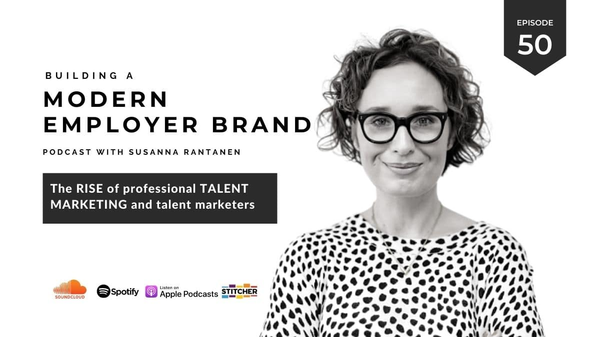 #50 The rise of professional talent marketing and professional talent marketer