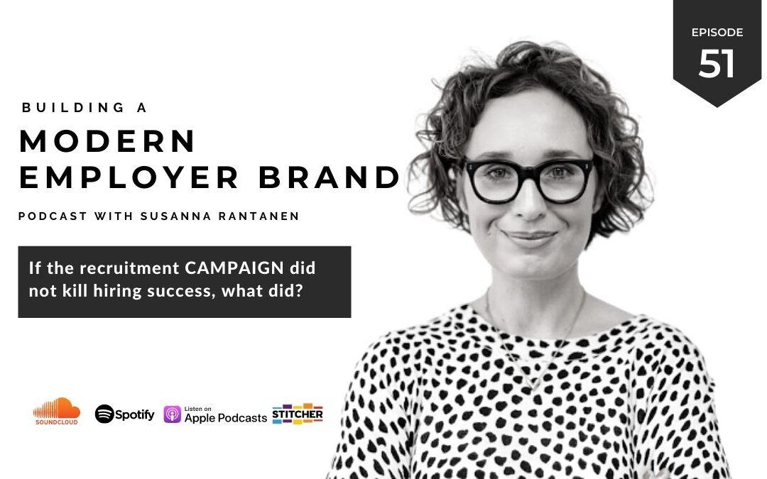How to measure success in a recruitment campaign? [podcast #51]