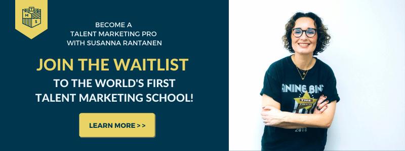 Talent Marketing School Become a Talent Marketing Pro