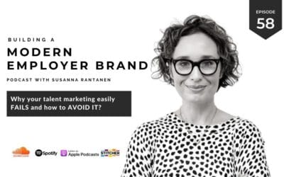 Why your talent marketing easily fails and how to avoid it [podcast #58]