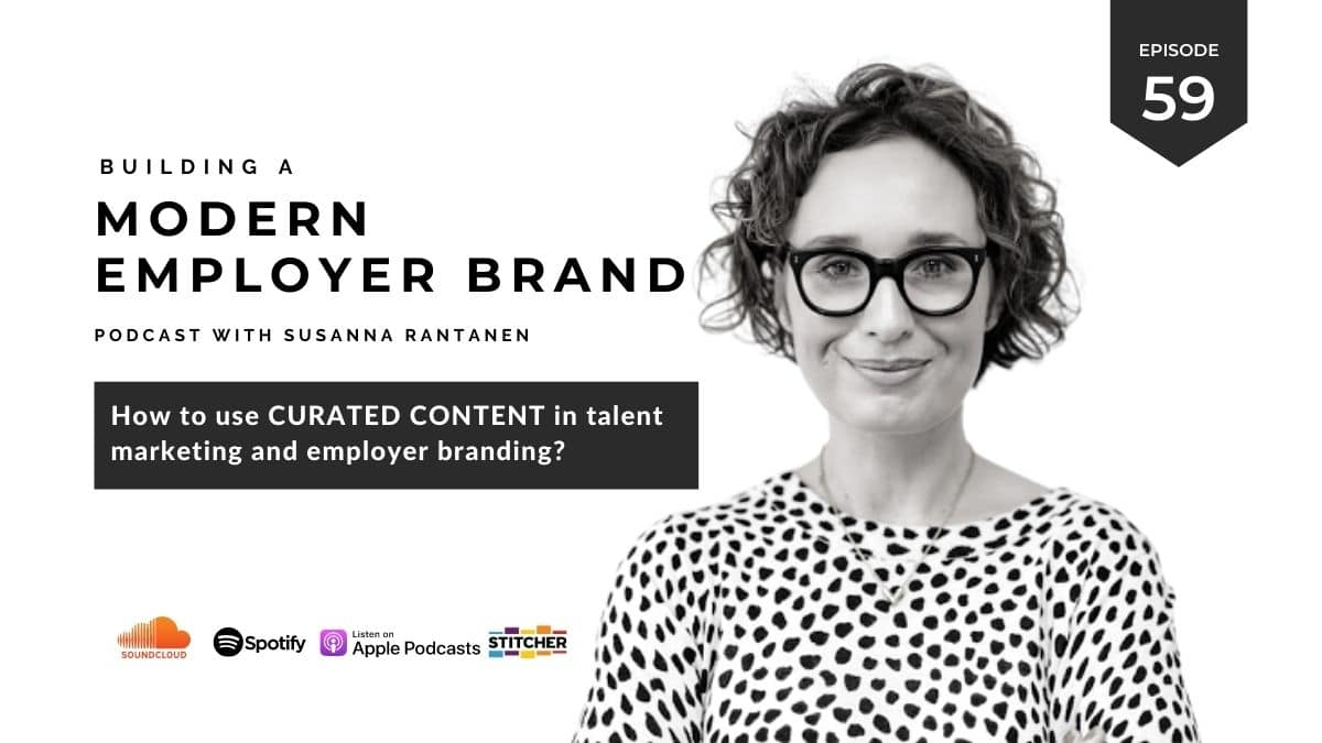 Blog #59 How to use curated content in talent marketing and employer branding