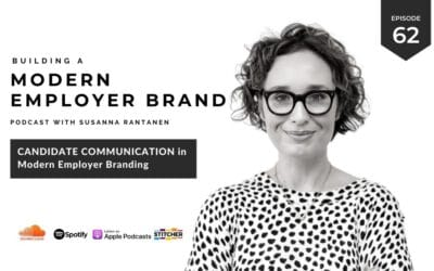 Candidate communication in modern employer branding [podcast #62]