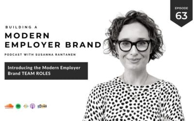 Introducing the Modern Employer Brand Team roles [podcast #63]