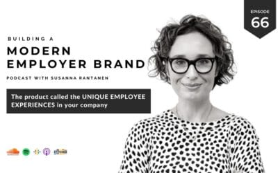 The product called Unique Employee Experiences in your company [podcast #66]