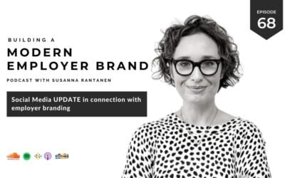 Social media update for employer branding [podcast #68]