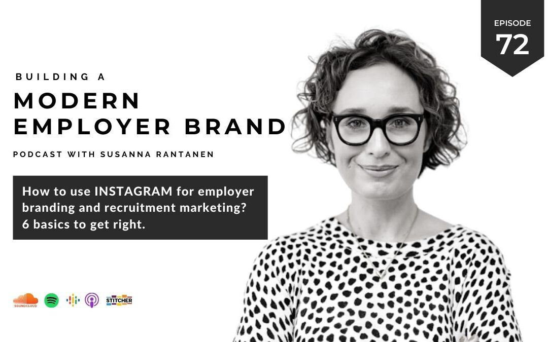 How to use Instagram for employer branding? [podcast #72]