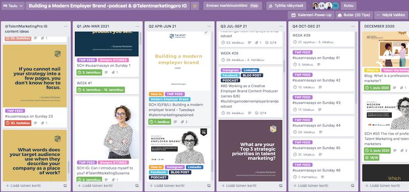 Screenshot - Susanna Rantanen on how to plan and build a modern employer brand