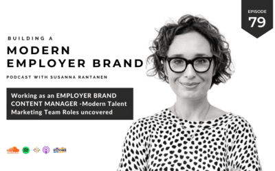 Working as an Employer Brand Content Manager [podcast #79]