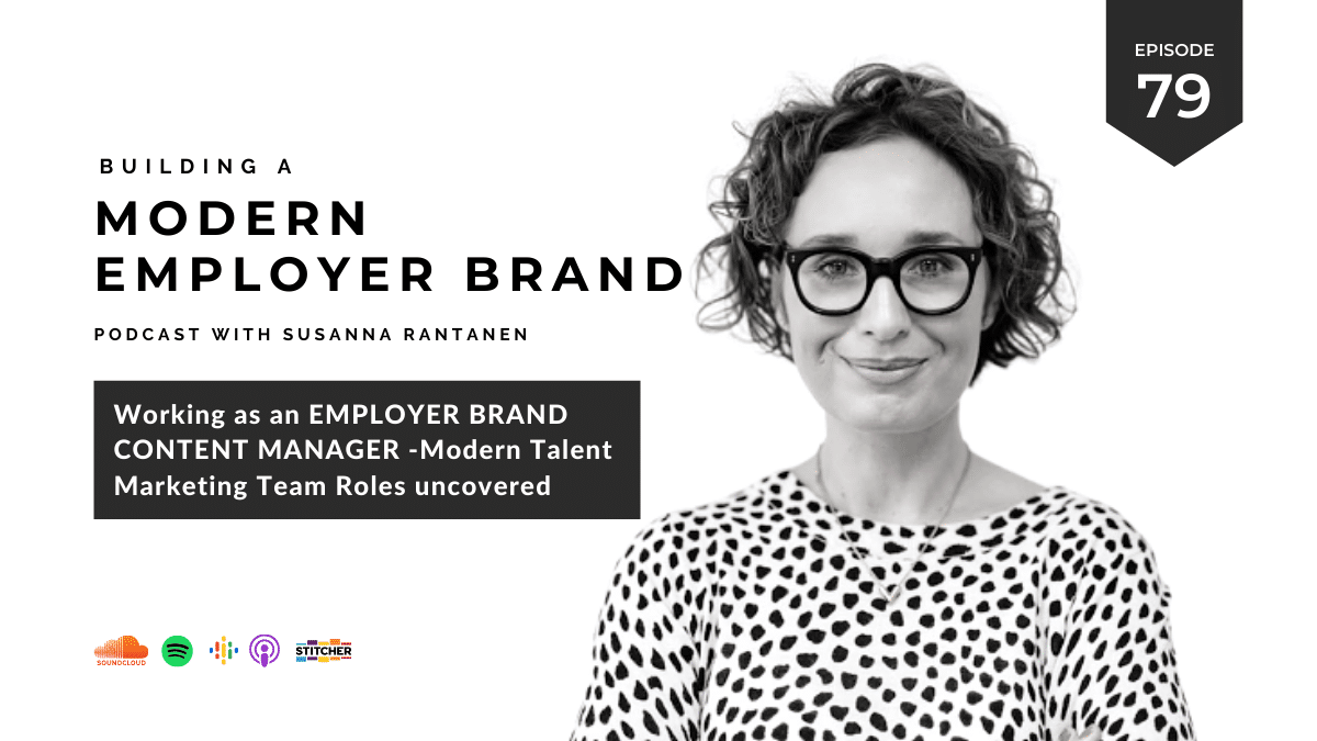 #79 Working as an Employer Brand Content Manager (series 5/6)