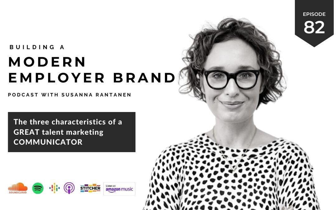 Why you need to get your key message right in talent marketing [podcast #82]
