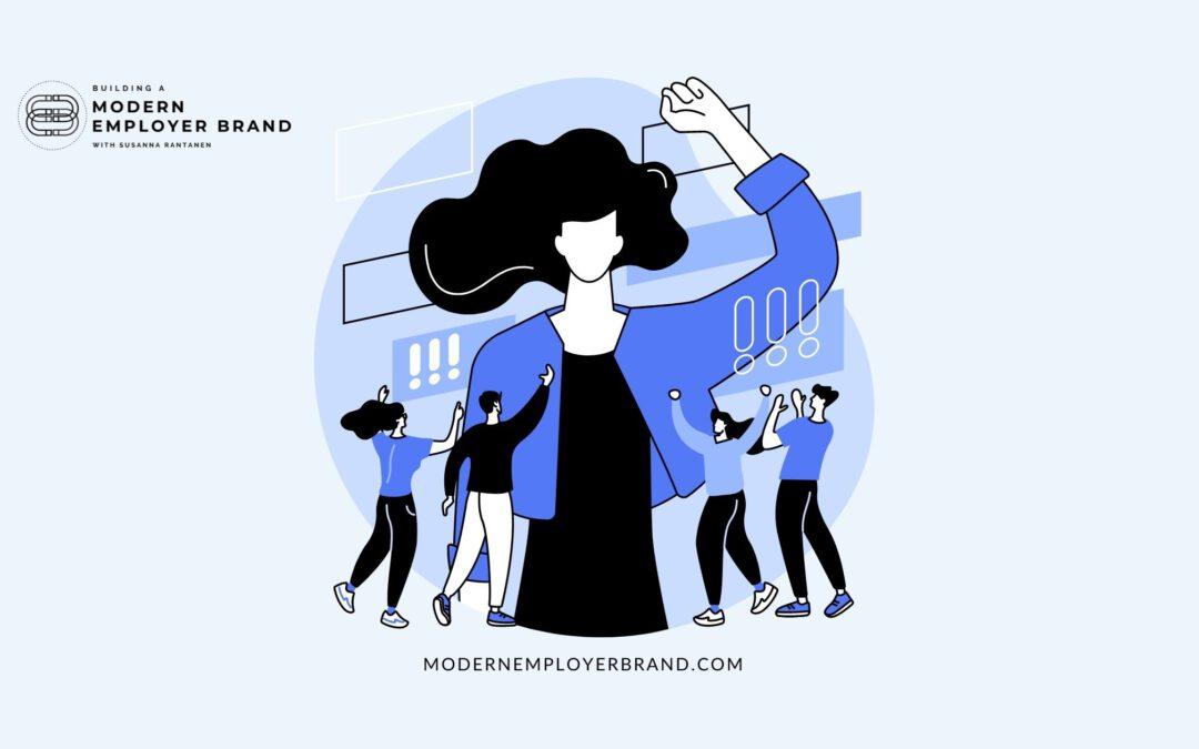 Blog header building the modern employer brand great resignation